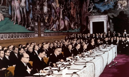 60 years since the Treaty of Rome: let's start by changing the captain of the ship