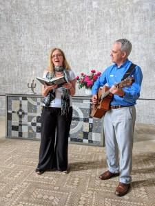 Teresa and Michael Zink led Several Hymns