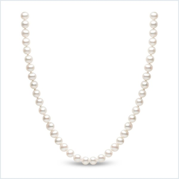 Euro Pearls 6mm Freshwater Pearl Necklace