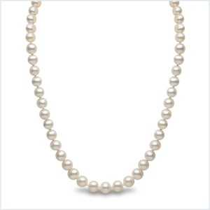 Euro Pearls 8mm Freshwater Pearl Necklace