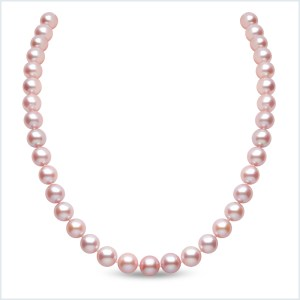 Euro Pearls 10mm Pink Freshwater Pearl Necklace