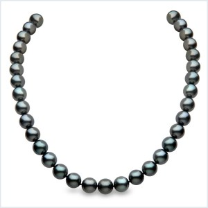 Euro Pearls Tahitian Pearl Necklace