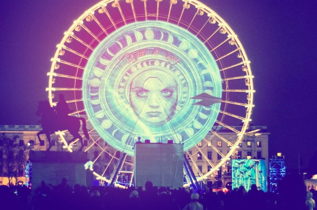The Ferris Wheel at Place Bellecour