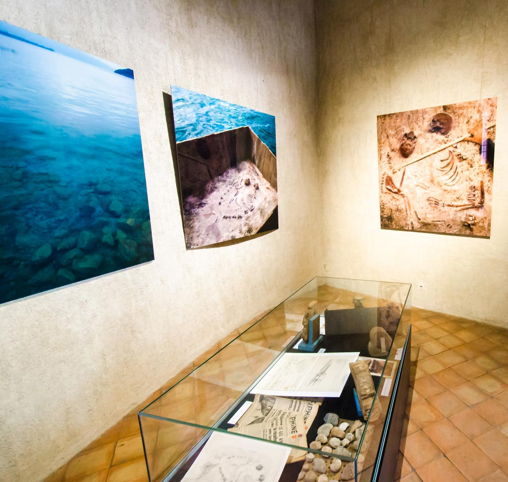 Part of the exhibtion at Château d'Annecy by Joan Fontcuberta
