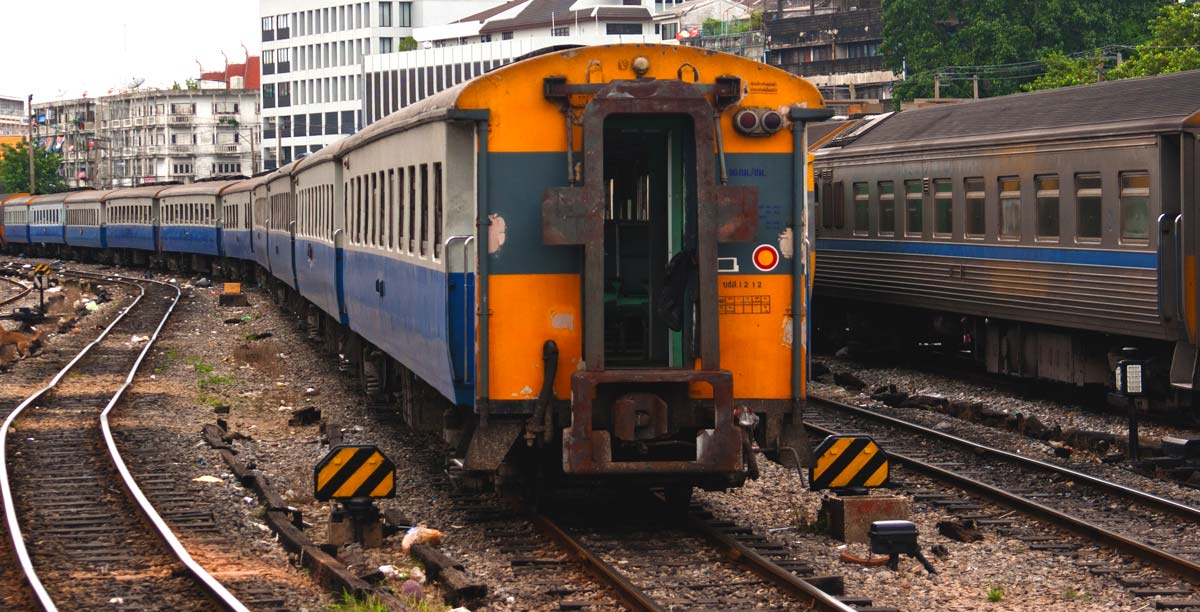 Trains in Thailand