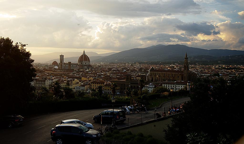 The Cattedrale di Santa Maria del Fiore From Piazzale Michelangelo