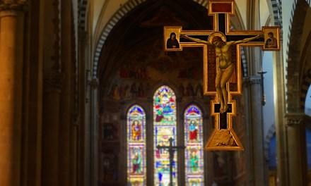 A Study Of Giotto's Crucifix In Santa Maria Novella
