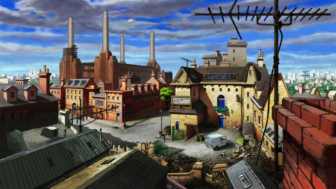 Broken Sword 5 Battersea Power Station - Games Depicting London
