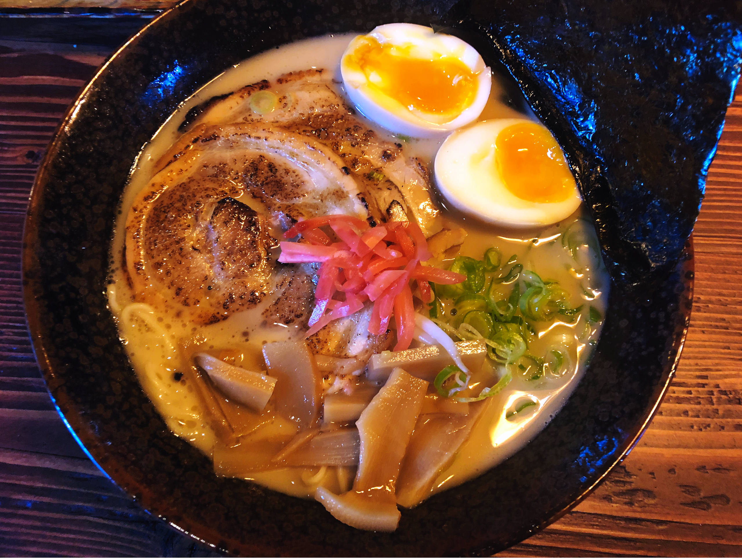 Ramen at Hakata Ramen Bar, Bermondsey Se1
