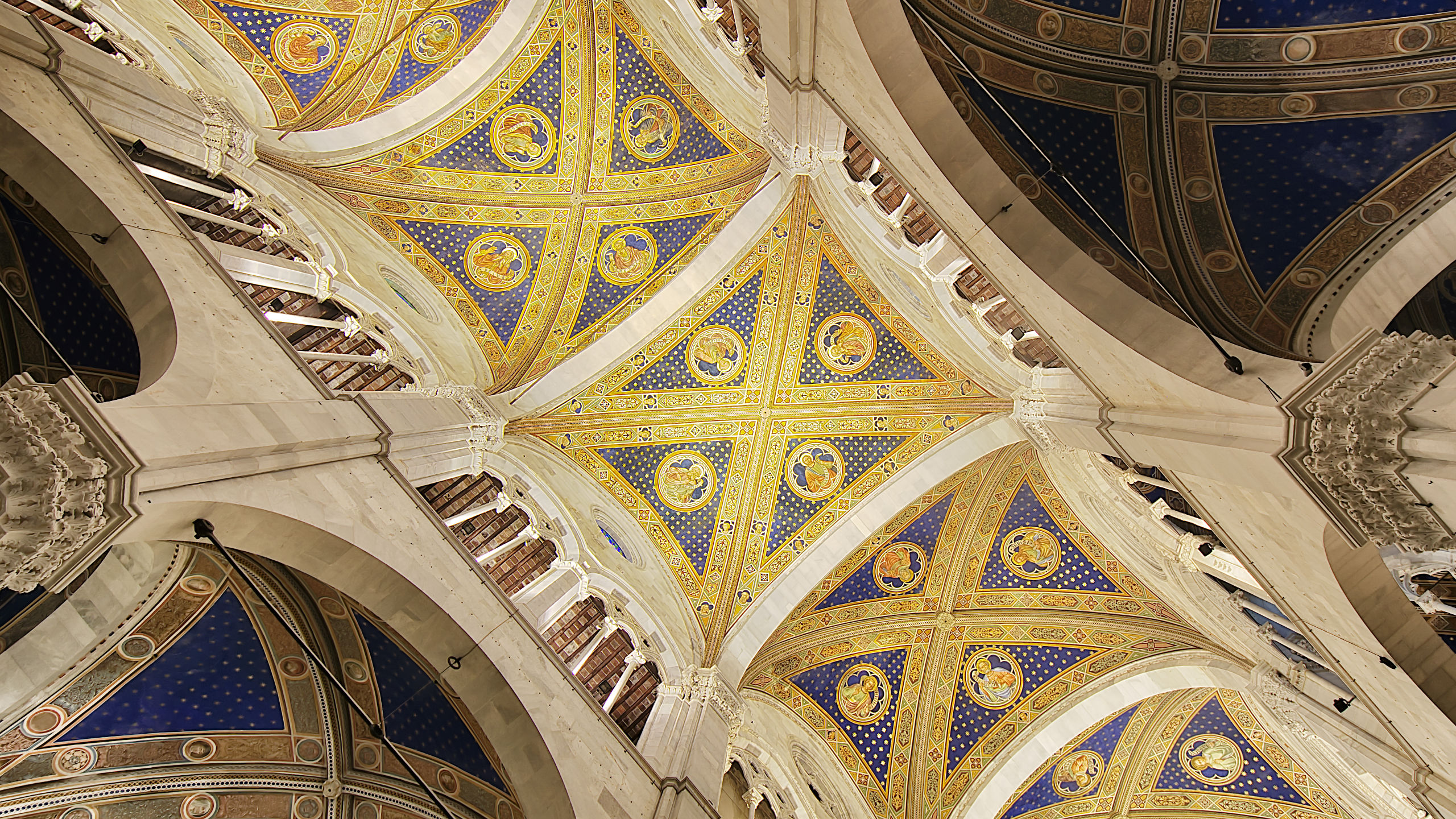 The ceiling of the Cattedrale di san martino in Lucca