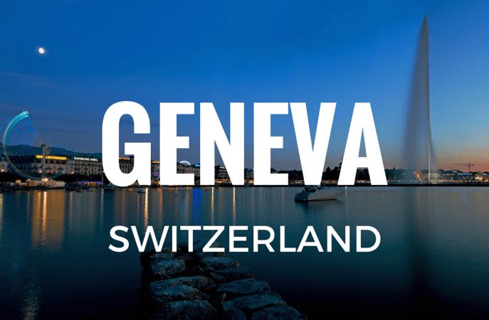 Geneva - Top 10 best cities to work in
