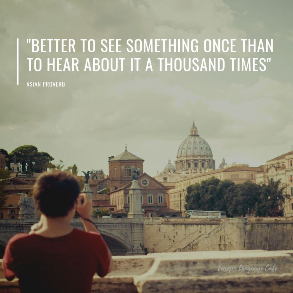 travel quotes better to see something