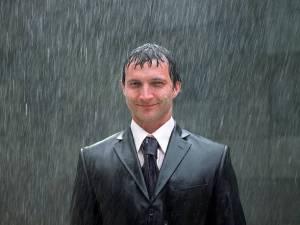 Irish stereotypes, rain
