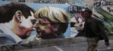 tsiprasmerkelgraffiti