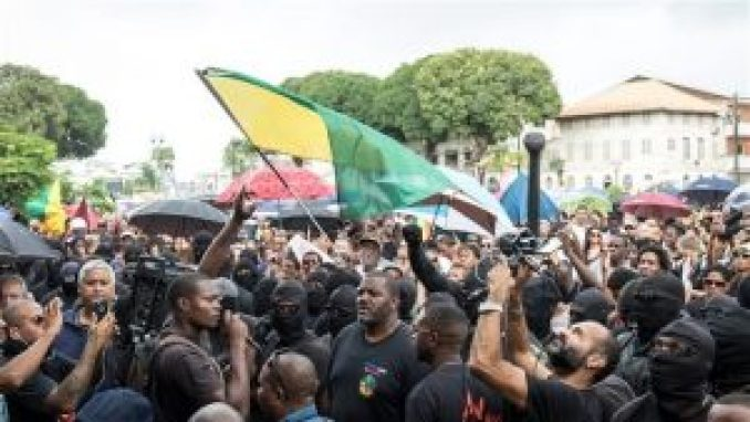 Guiana protests