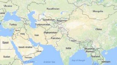 Afghanistanworldmap