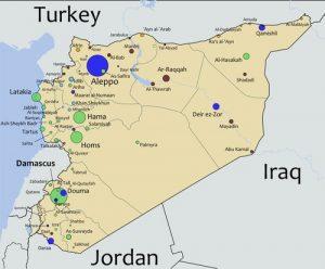 SyriaWarMap
