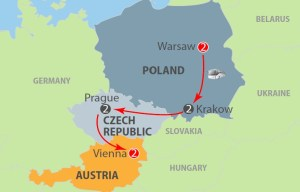 Warsaw to Vienna