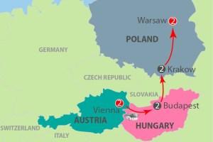 Austria, Hungary & Poland