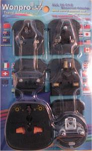 AST-P5vs_black, All-In-One Adapter Kit in Blister Case
