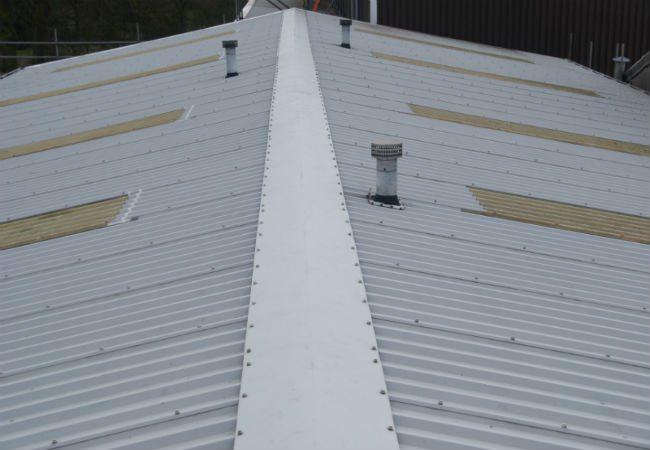 Plastisol & Metal Roof Before
