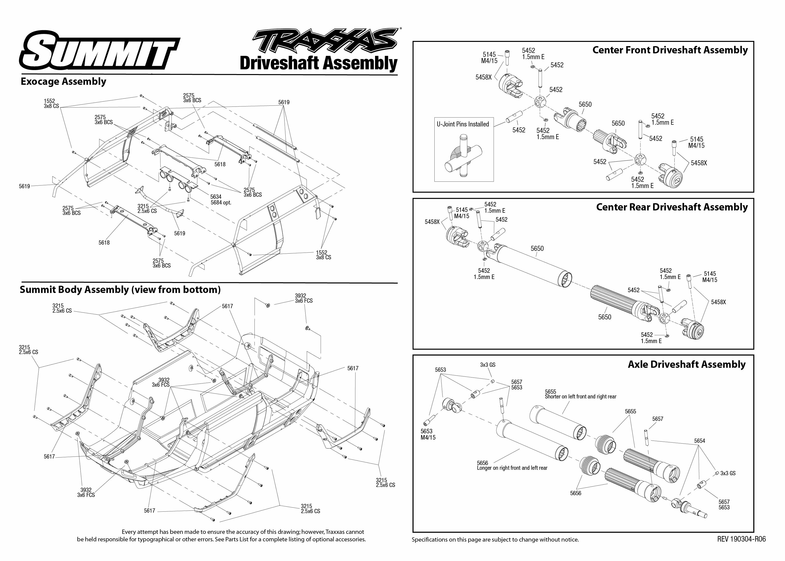 32 Traxxas Revo 3 3 Parts Diagram
