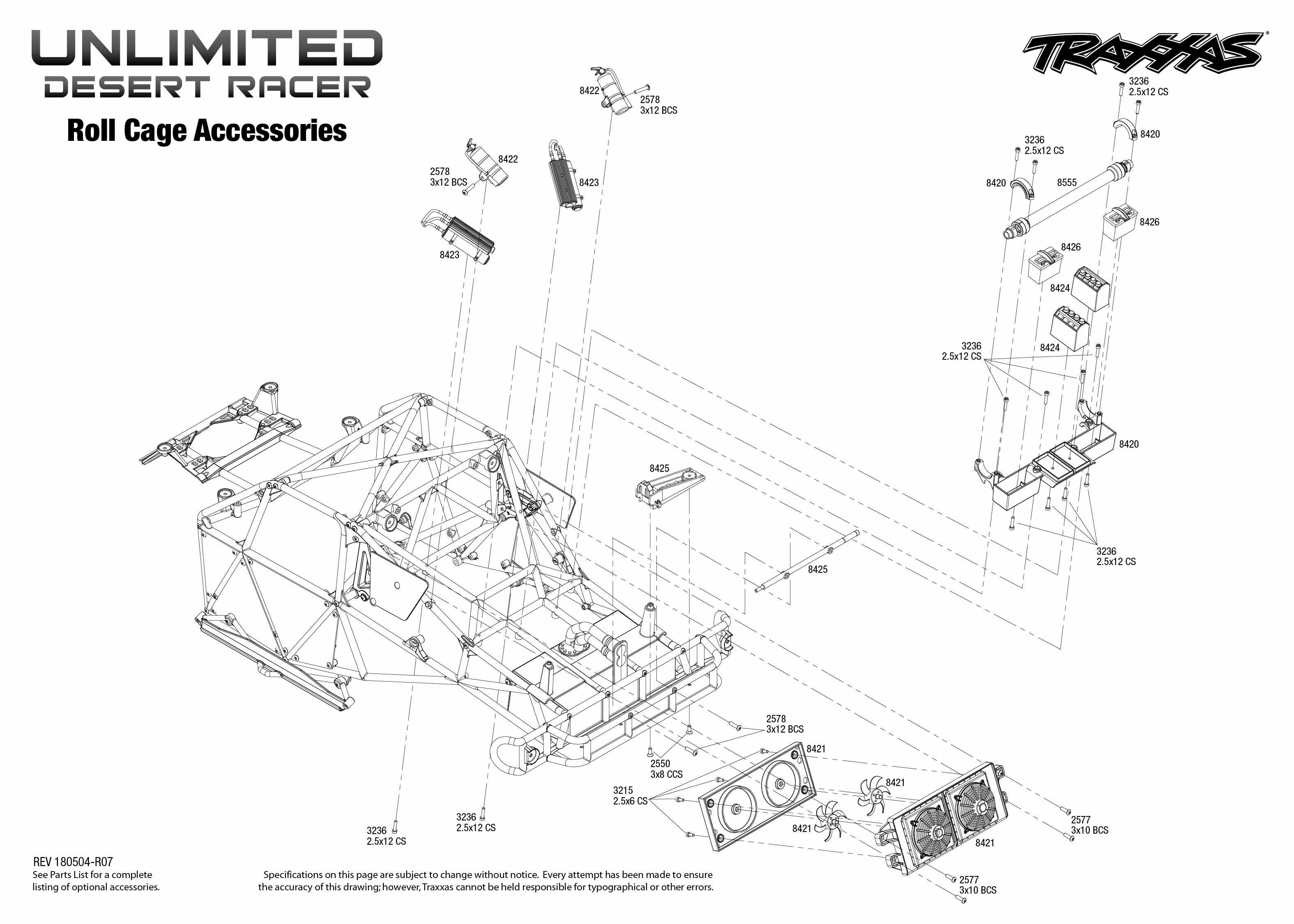 Traxxas Unlimited Desert Racer Udr