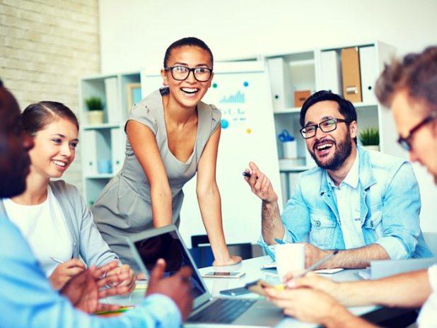 líder en los equipos de trabajo