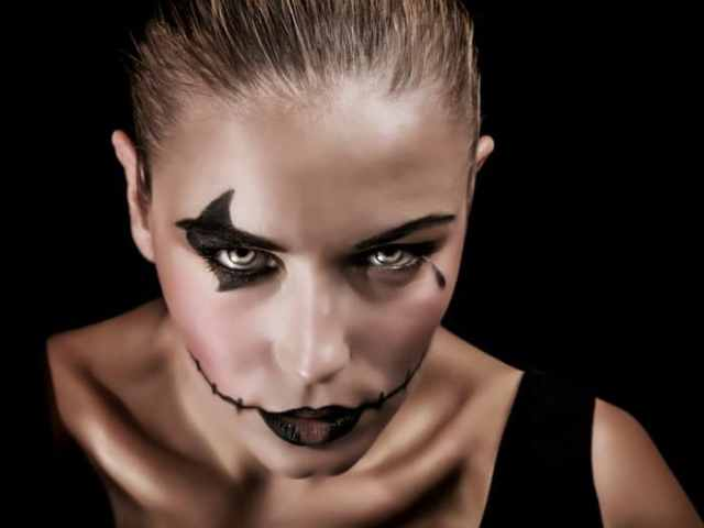 trucos de maquillaje para halloween sencillo