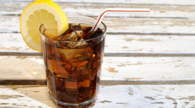 Is your diet cola blinding?