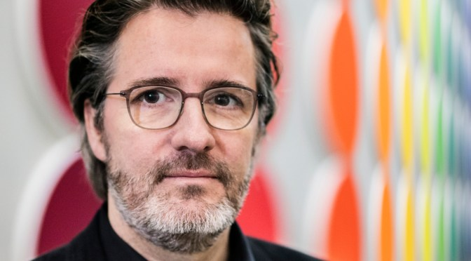 Olafur Eliasson. Image credit: Anders Sune Berg, courtesy of http://olafureliasson.net