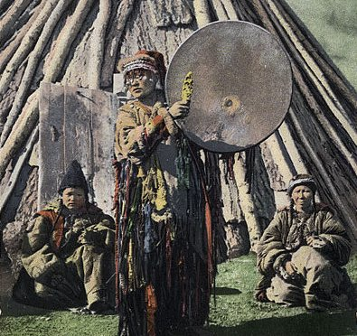Archaeological evidence for shamans' worldview and landscape