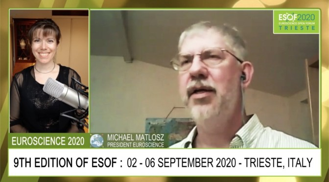 ESOF2020 Trieste – INTERVIEW #1 Michael Matlosz