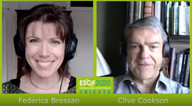 ESOF2020 Trieste – Interview #2 Clive Cookson