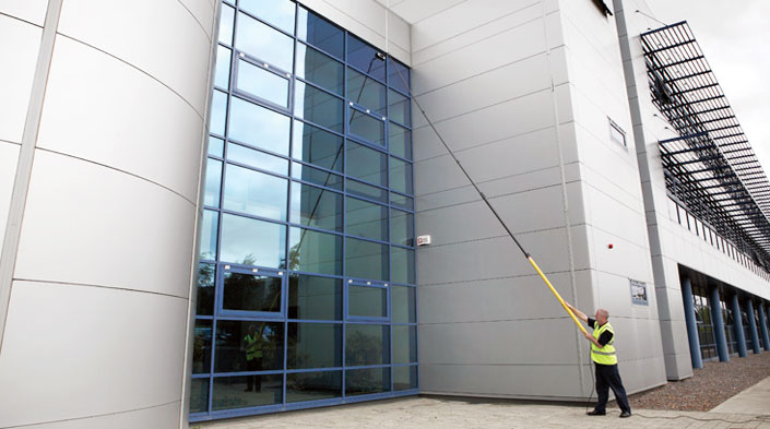 commercial window cleaning dublin