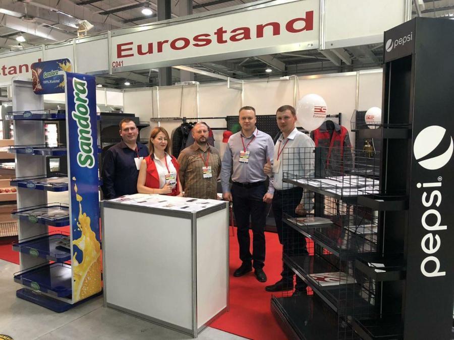 """Компанія """"Eurostand"""" взяла участь у виставці """"Індустрія торгівлі"""""""