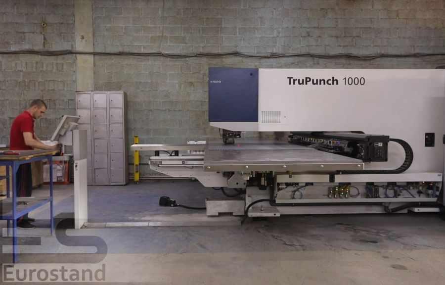 TruPunch 1000 ⎼⎼ станок для професійної обробки металу вирубкою.