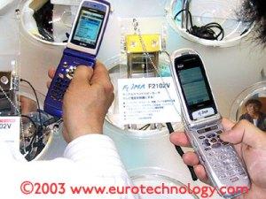 DoCoMo FOMA 3G cell phones