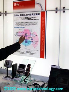 KDDI IPV6 demonstration