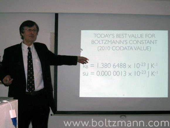 Boltzmann constant by Gerhard Fasol