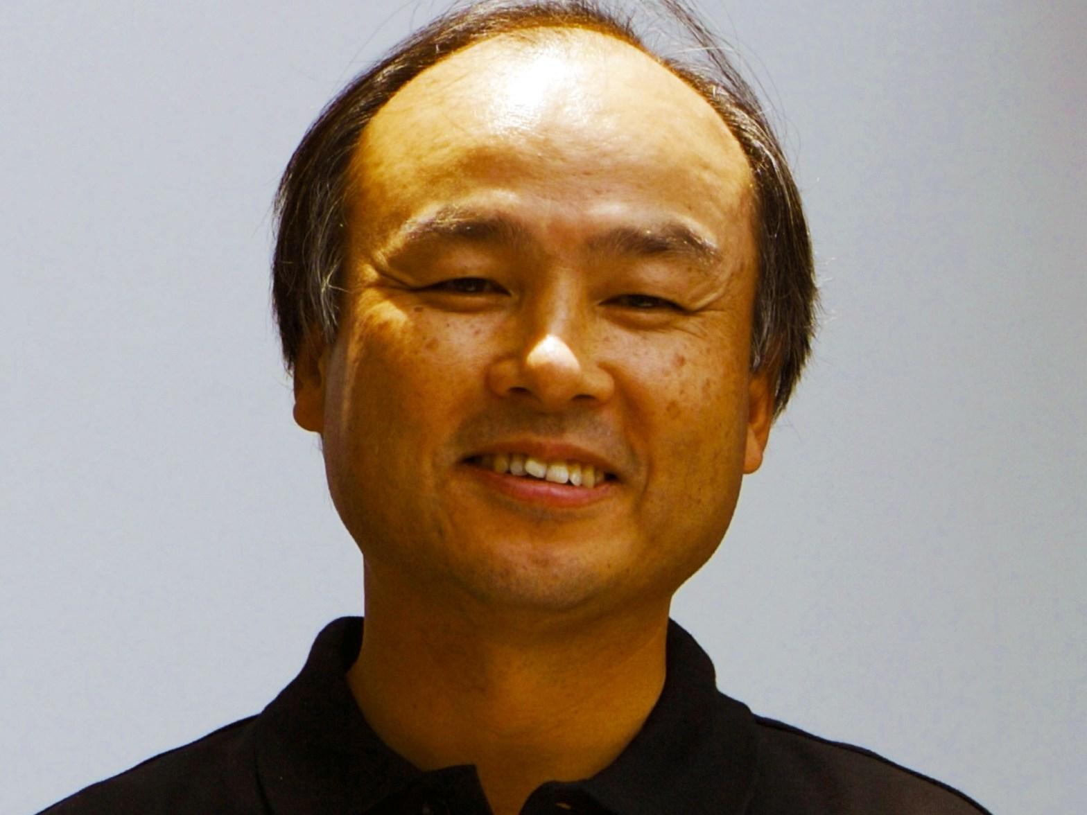 Masayoshi Son Source: Masaru Kamikura via Wikipedia