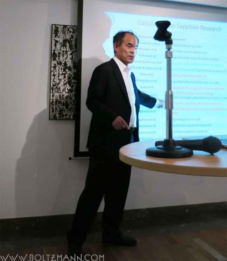Shuji Nakamura  Developments of InGaN-based double hetero-structure high brightness blue LEDs and future lighting
