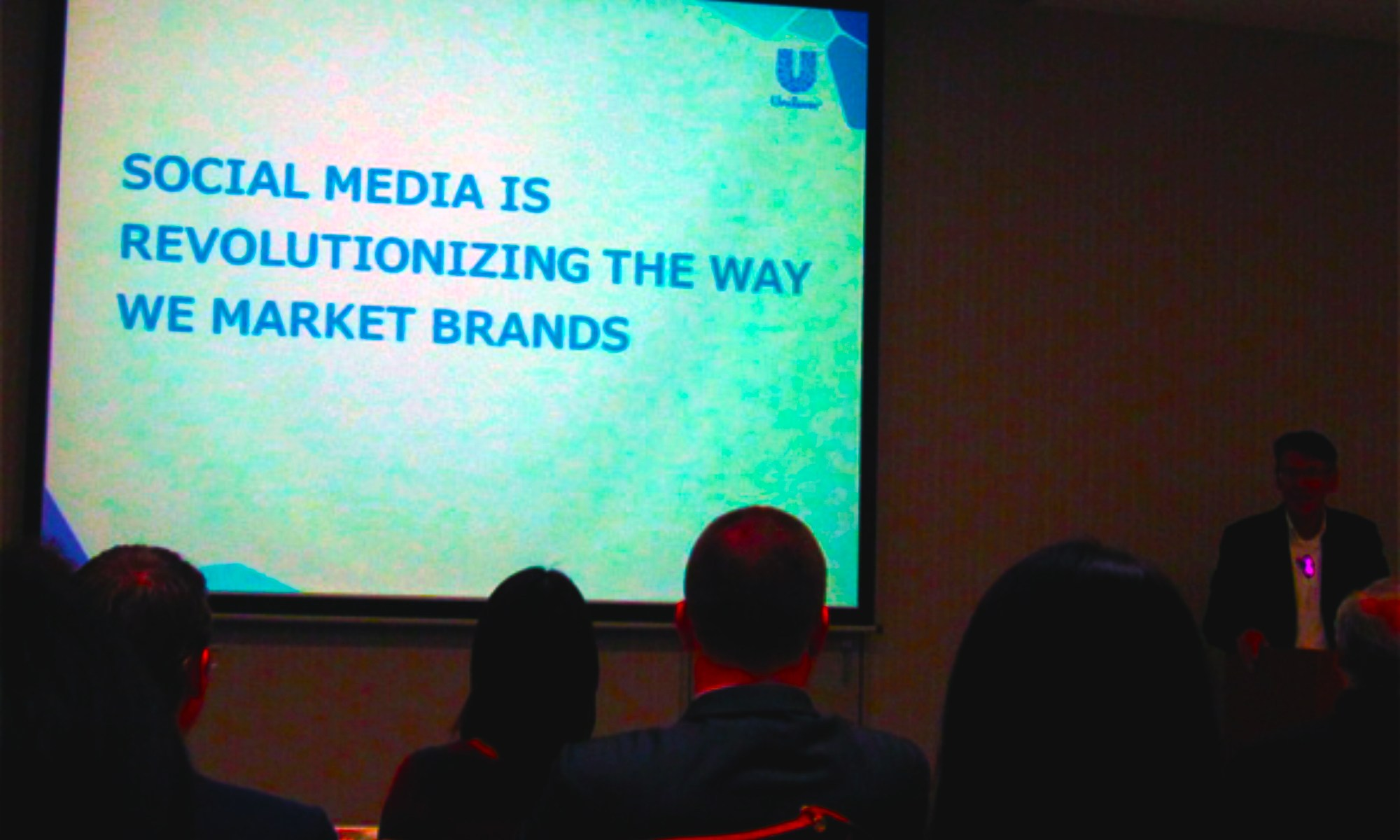 Social media marketing (Ray Bremner, President & CEO, Unilever Japan)