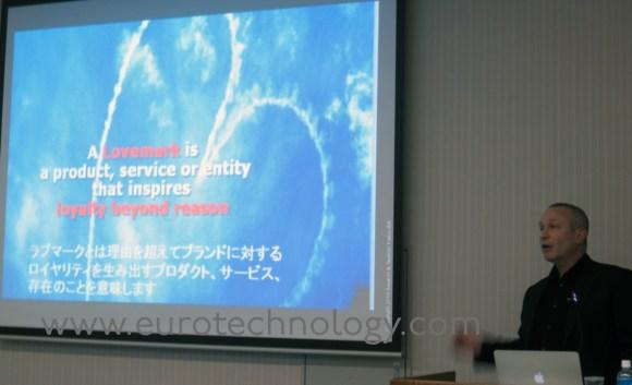 Japan brand management: Saatchi & Saatchi Japan CEO Philip Rubel talks about Lovemarks in Japan