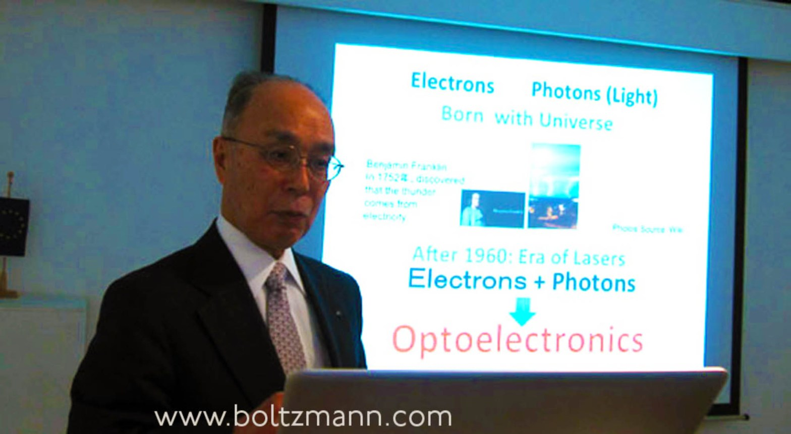 Vertical cavity surface emitting lasers (VCSEL) by their inventor, Kenichi Iga (6th Ludwig Boltzmann Symposium)