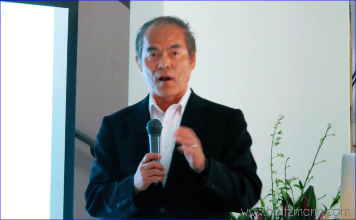Shuji Nakamura at the Ludwig Boltzmann Forum