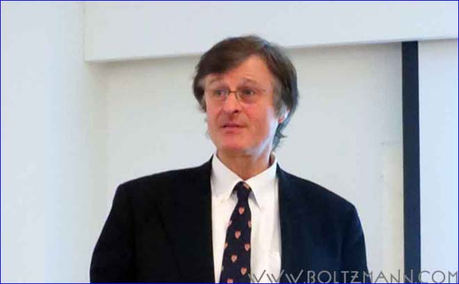 Gerhard Fasol at the Ludwig Boltzmann Forum