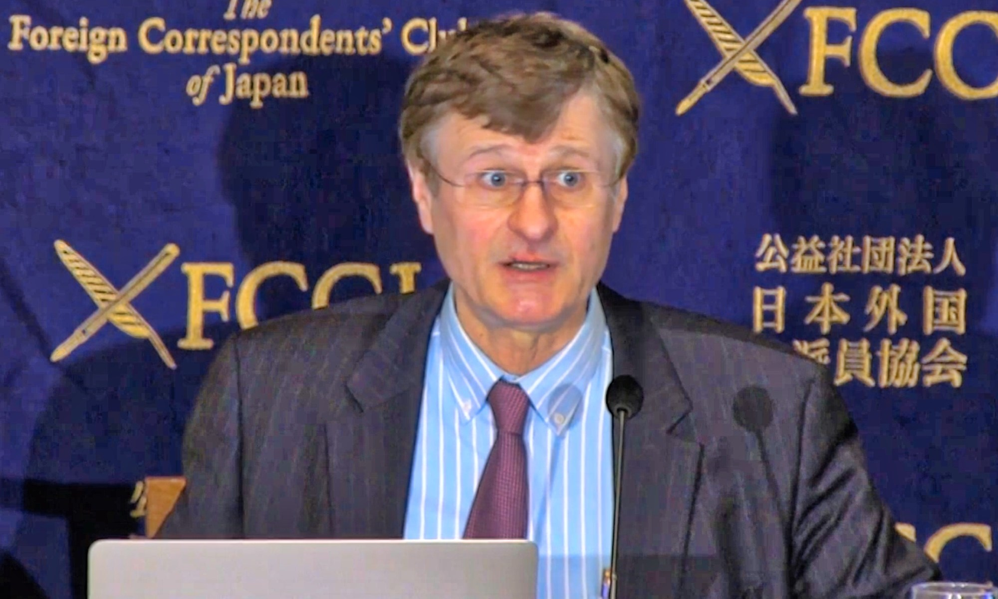 Corporate Governance Reforms in Japan, Gerhard Fasol at the Foreign Correspondents Club FCCJ 12 March 2018