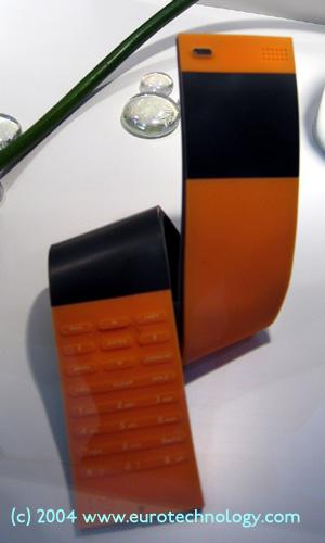NEC concept phone