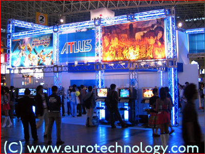 ATLUS at Tokyo Game Show TGS2004
